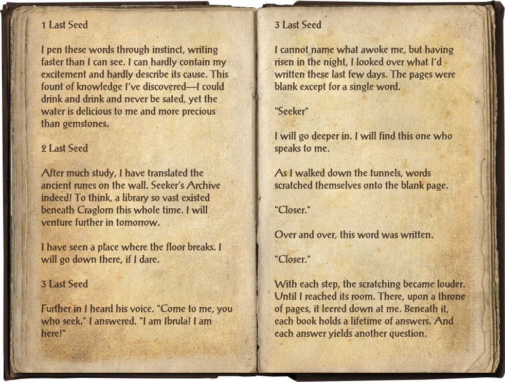 Ibrula's Journal