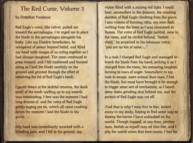 The Red Curse, Volume 3