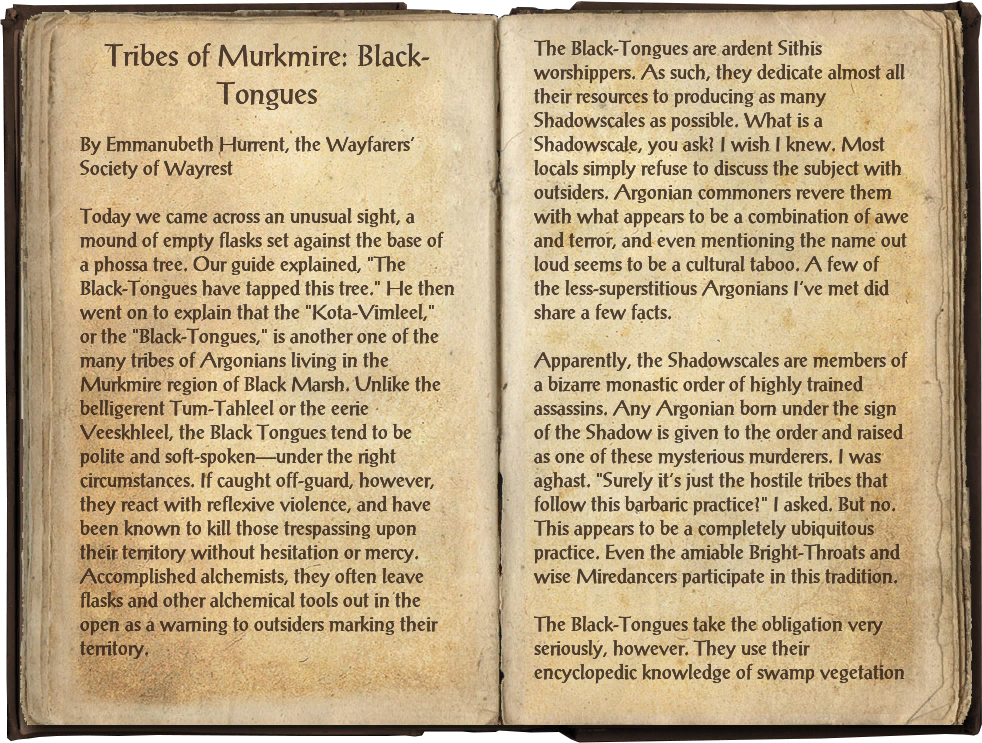 Tribes of Murkmire: Black-Tongues