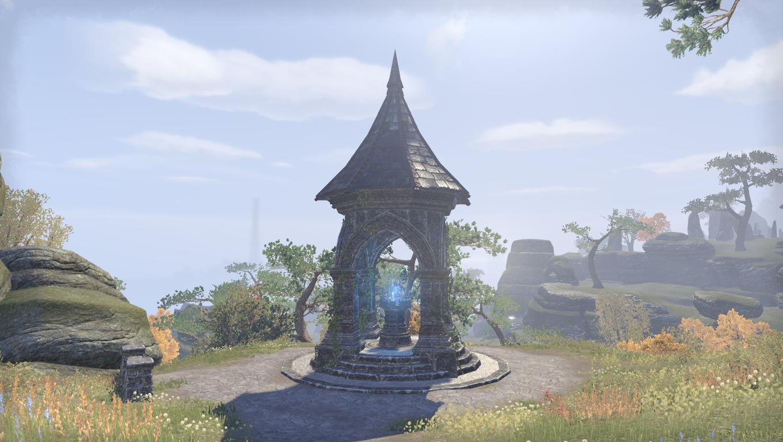 Дорожное святилище руин костехватов