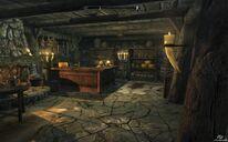 Riverwood Trader inside Skyrim