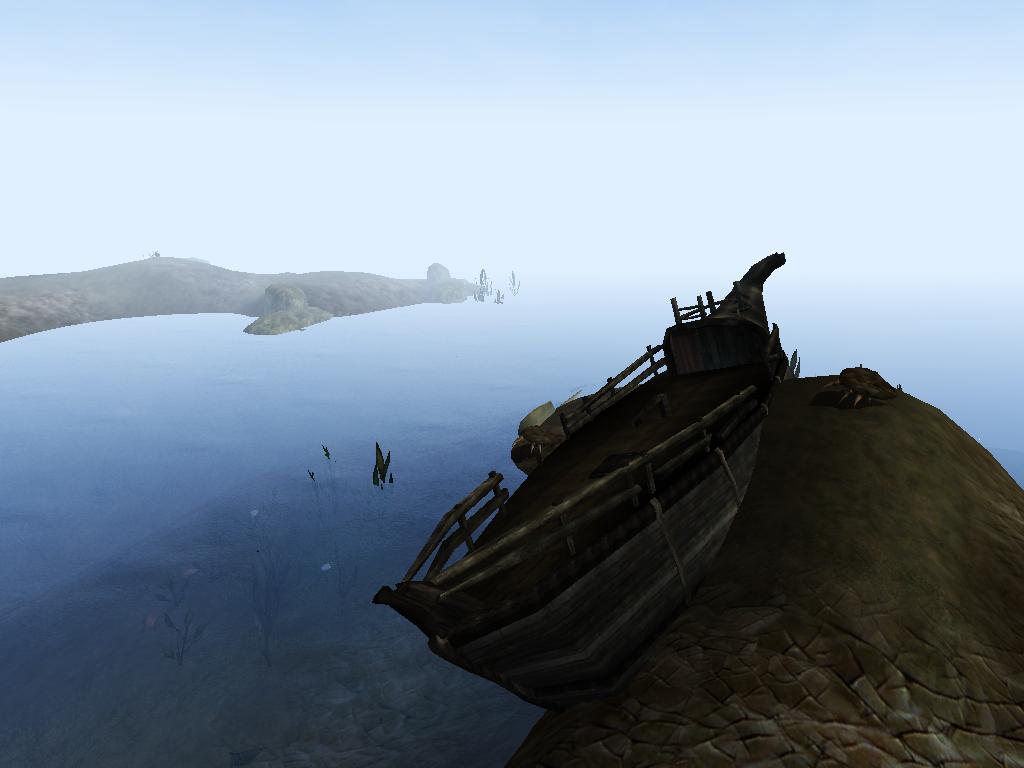 Unchartered Shipwreck