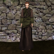 Простая мантия 2 (Morrowind) жен