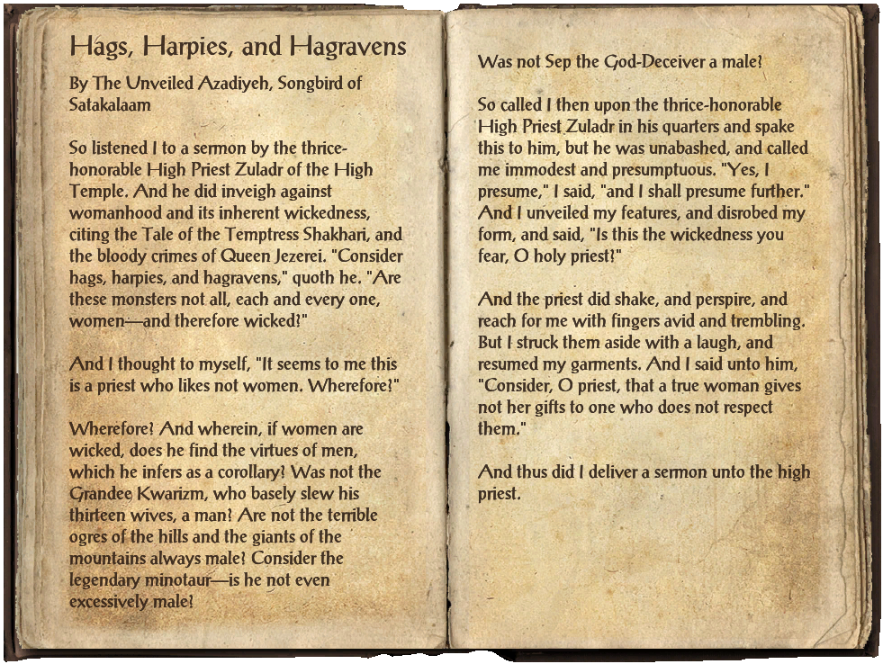 Hags, Harpies, and Hagravens