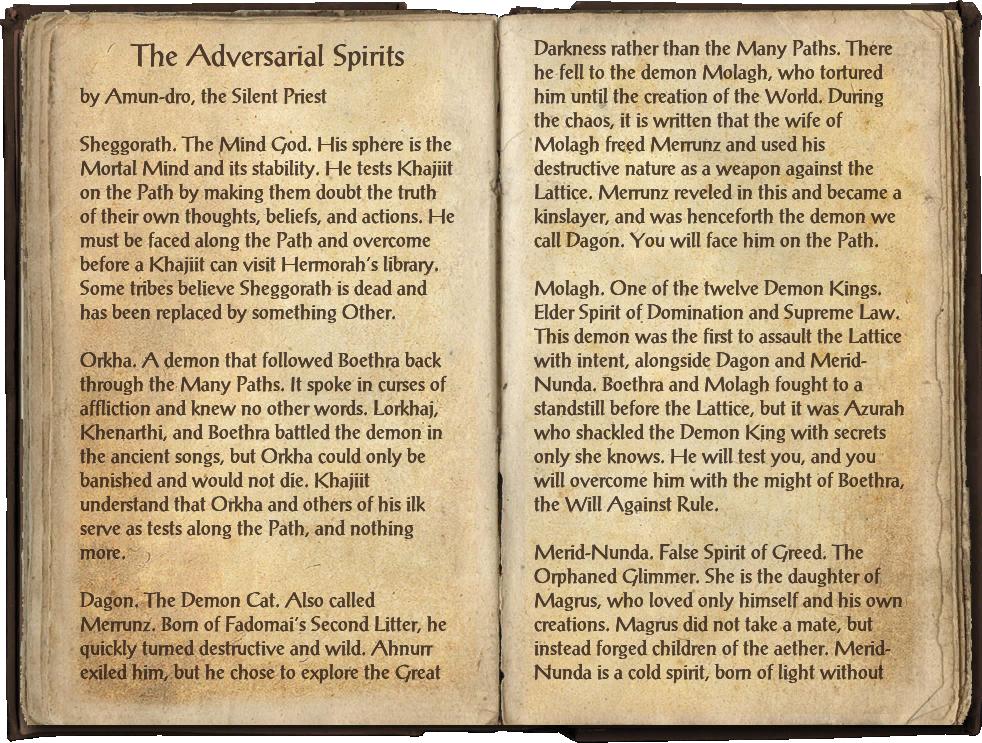 The Adversarial Spirits