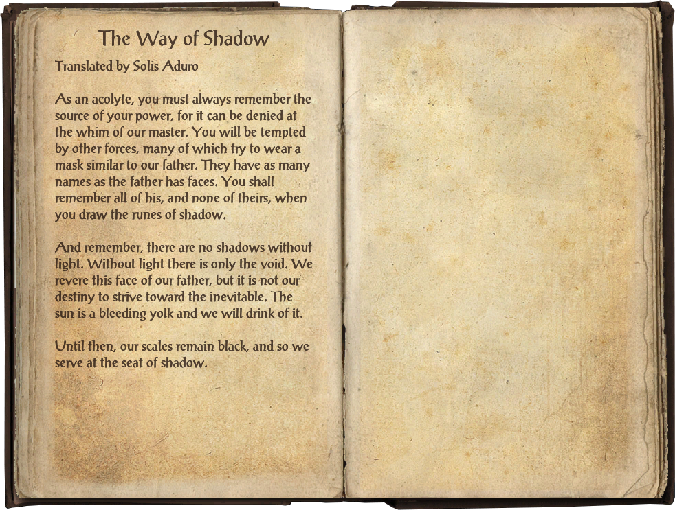 The Way of Shadow