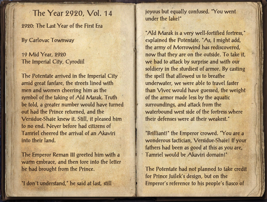 The Year 2920, Vol. 14