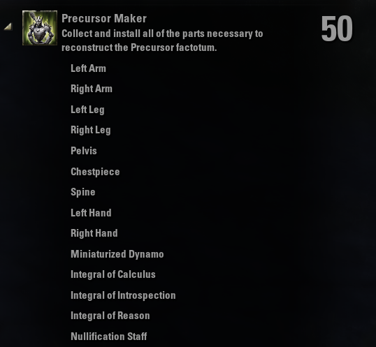 Precursor Maker