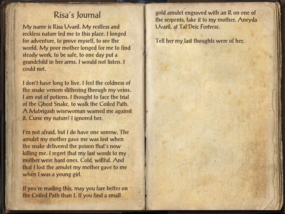 Risa's Journal