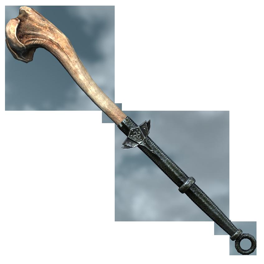 Драконий костяной боевой молот