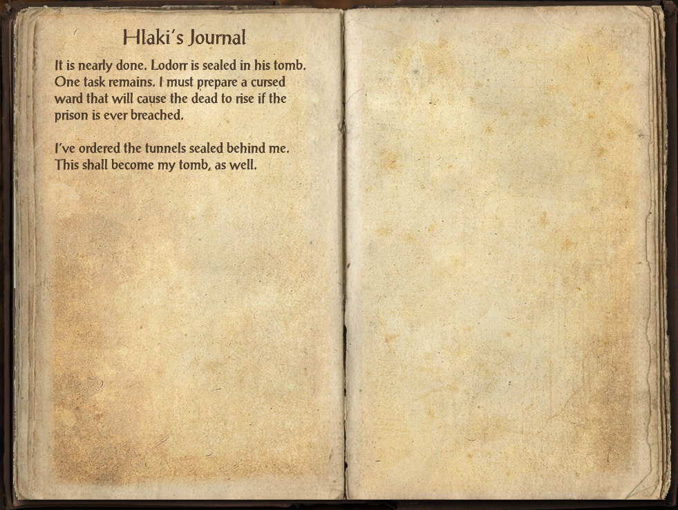 Hlaki's Journal