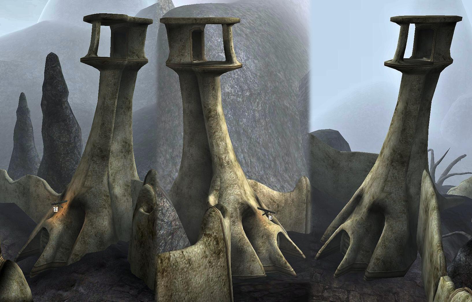 Maar Gan Guard Towers
