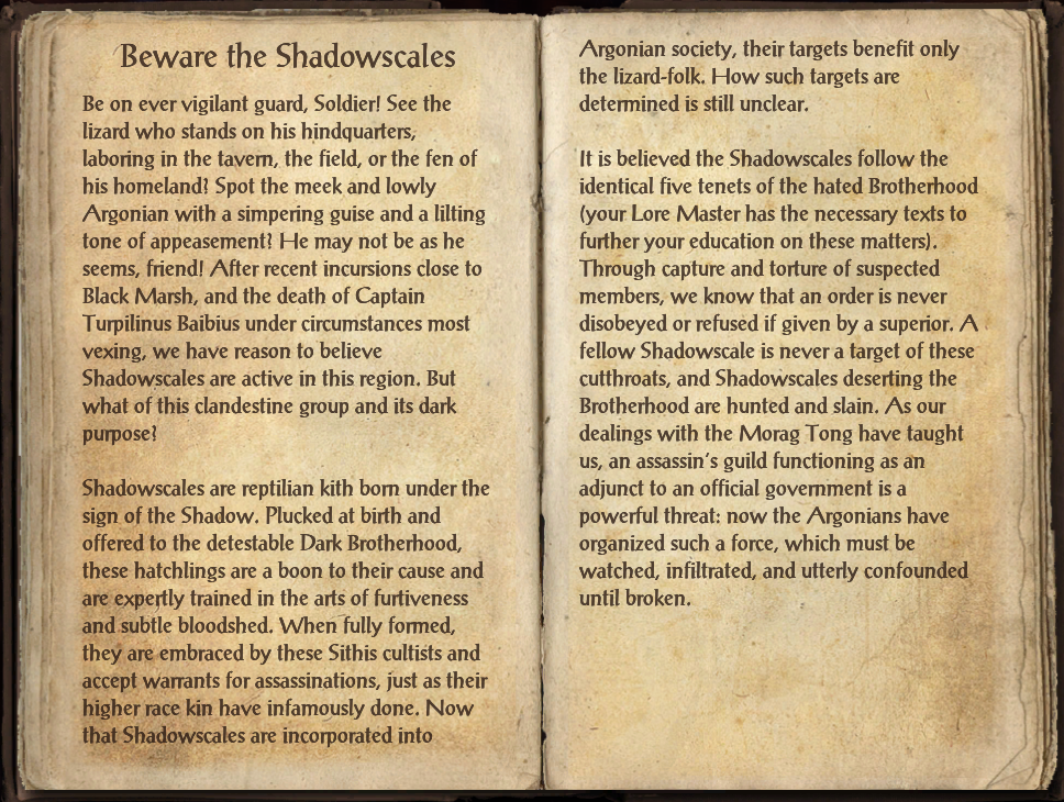 Beware the Shadowscales