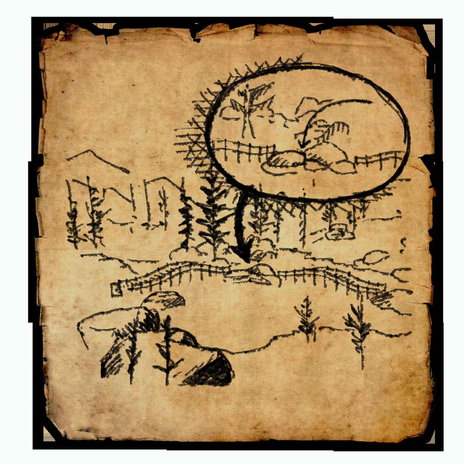 Cyrodiil Treasure Map XIII