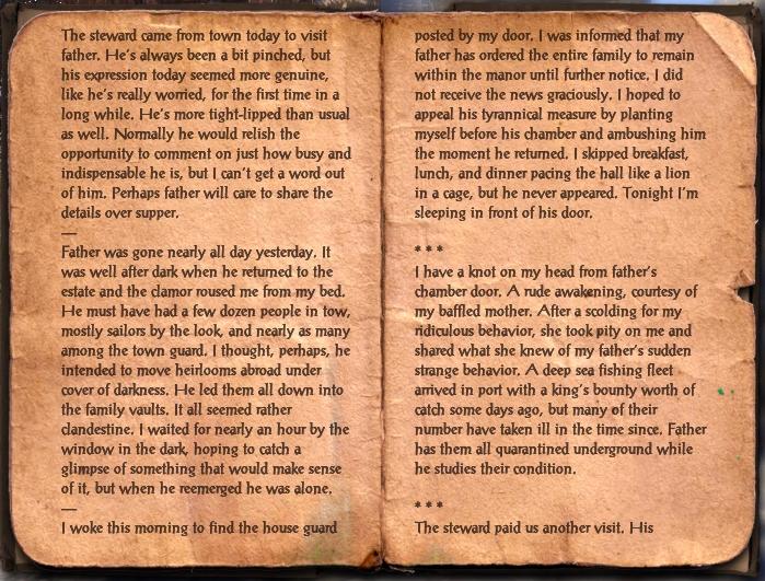 Rultari's Journal