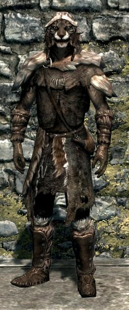 Меховой доспех (Skyrim)