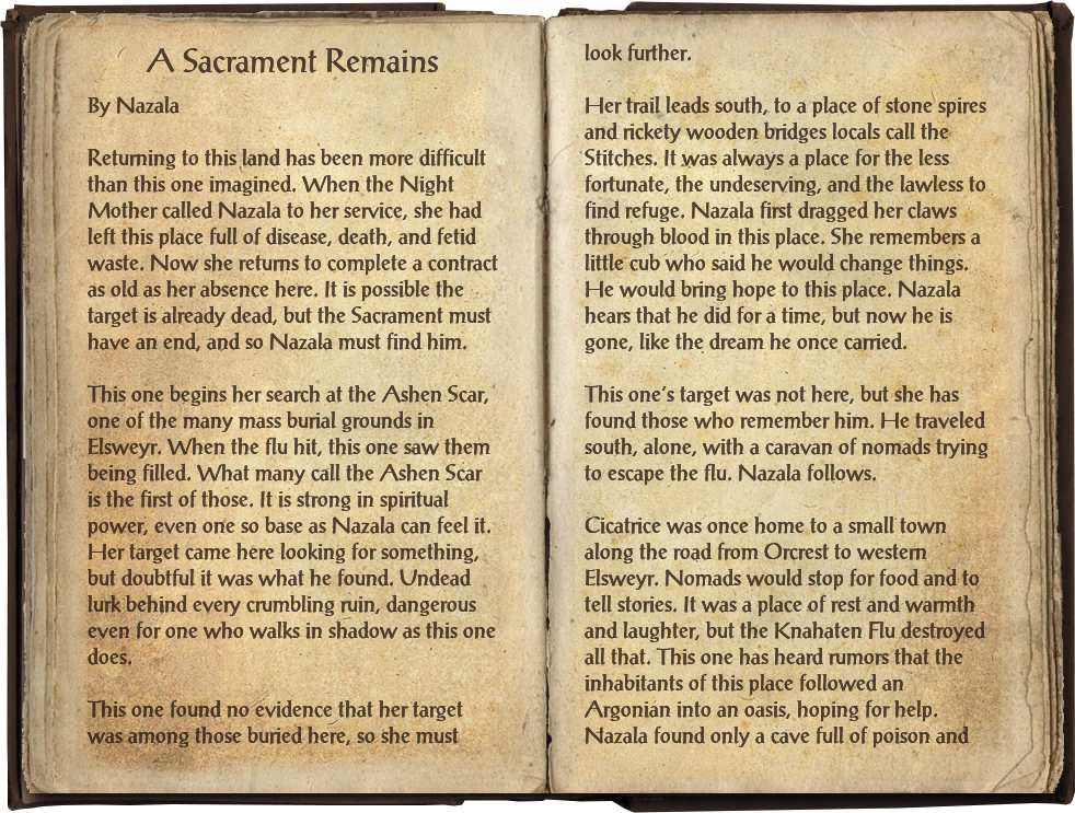 A Sacrament Remains