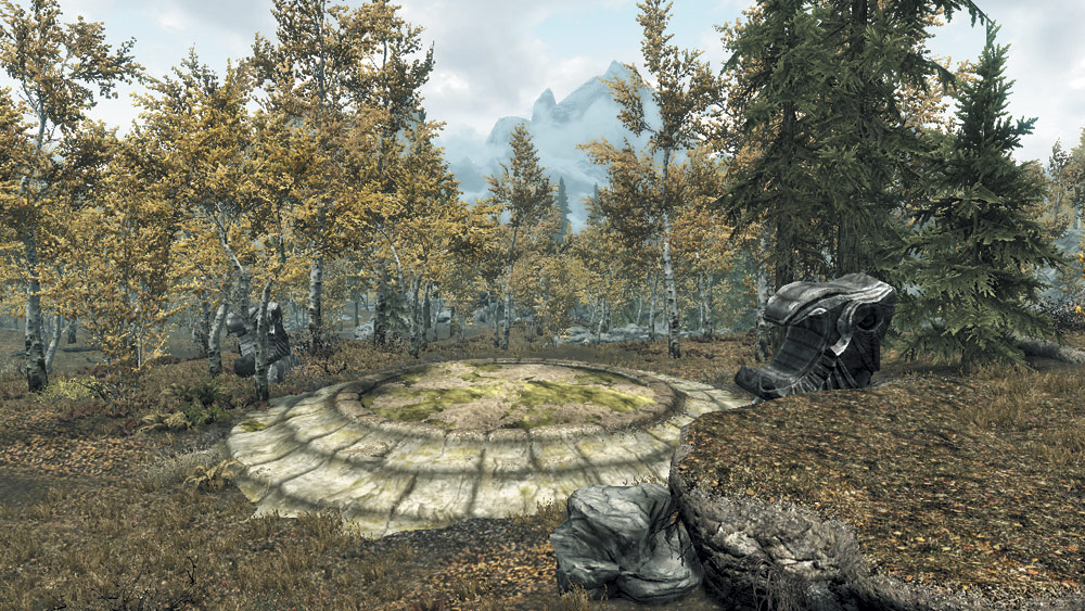 Dragon Mound: Autumnshade Woods