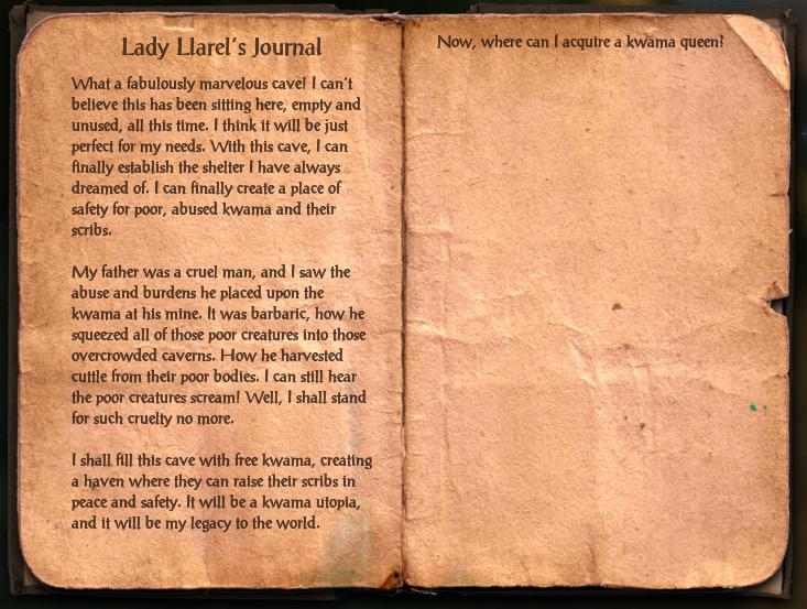 Lady Llarel's Journal
