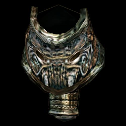 Orcish Left Pauldron