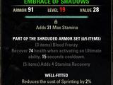 Shrouded Armor (Online)