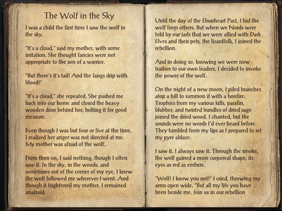 The Wolf in the Sky