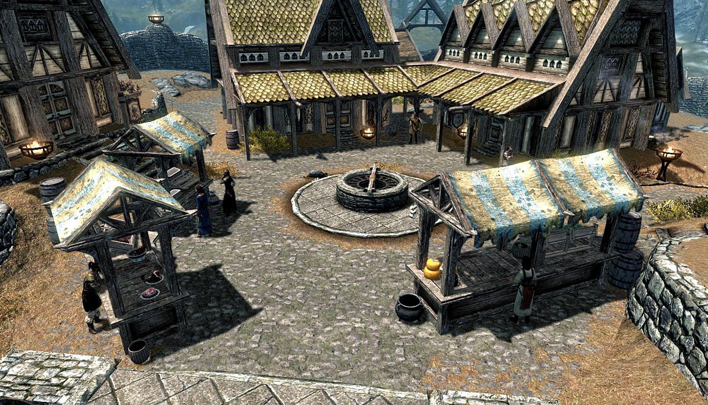 Whiterun Marketplace
