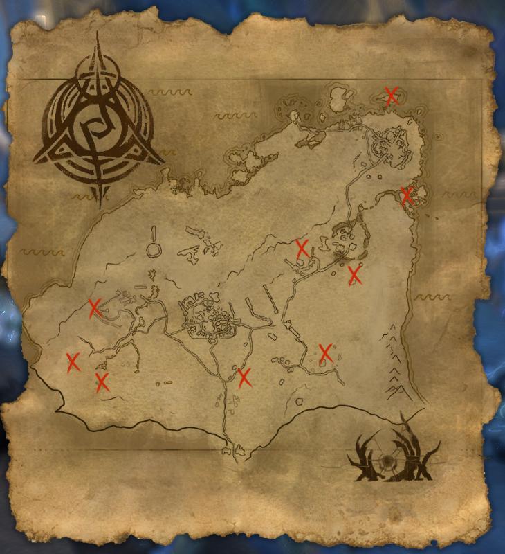 Psijic Map of Rivenspire