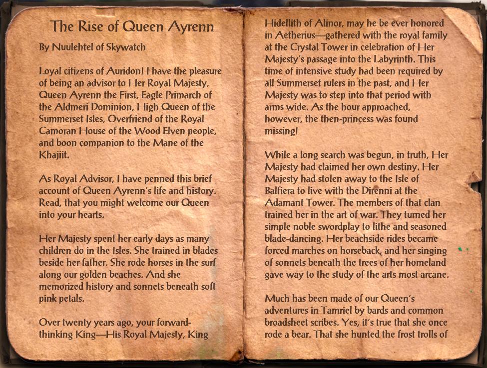 The Rise of Queen Ayrenn
