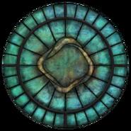 Witraż symbolu Arkaya (Oblivion)