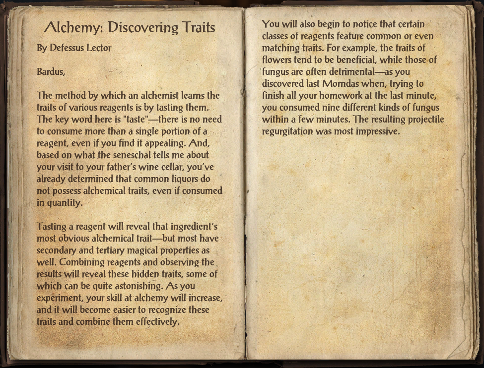 Alchemy: Discovering Traits