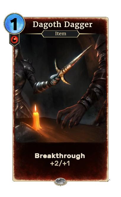 Dagoth Dagger (Legends)