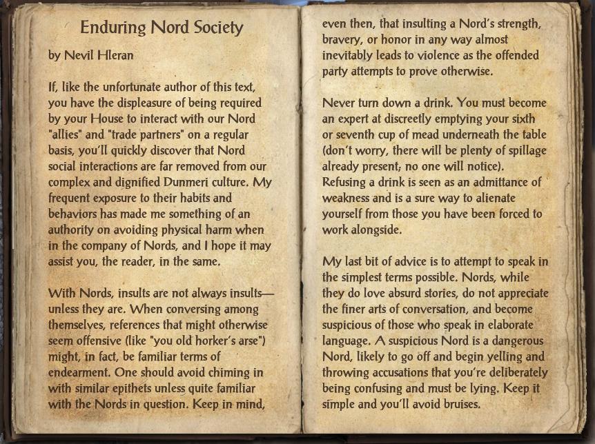 Enduring Nord Society