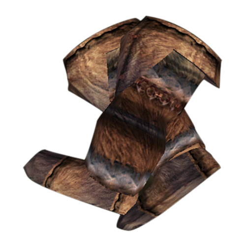 Nordic Fur Boots (Morrowind)