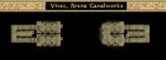 Arena Canalworks - Interior Map - Morrowind