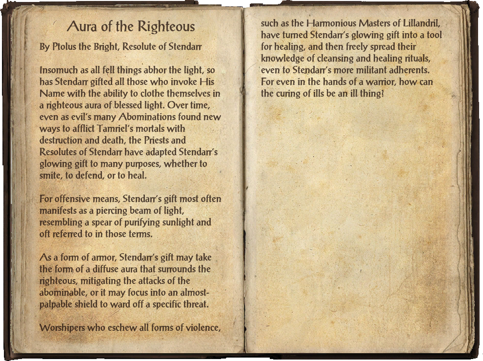 Aura of the Righteous