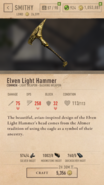 Elven Light Hammer