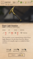 Elven Light Hammer
