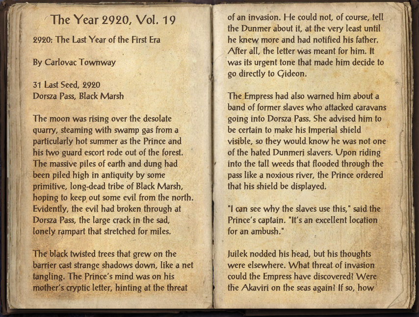 The Year 2920, Vol. 19