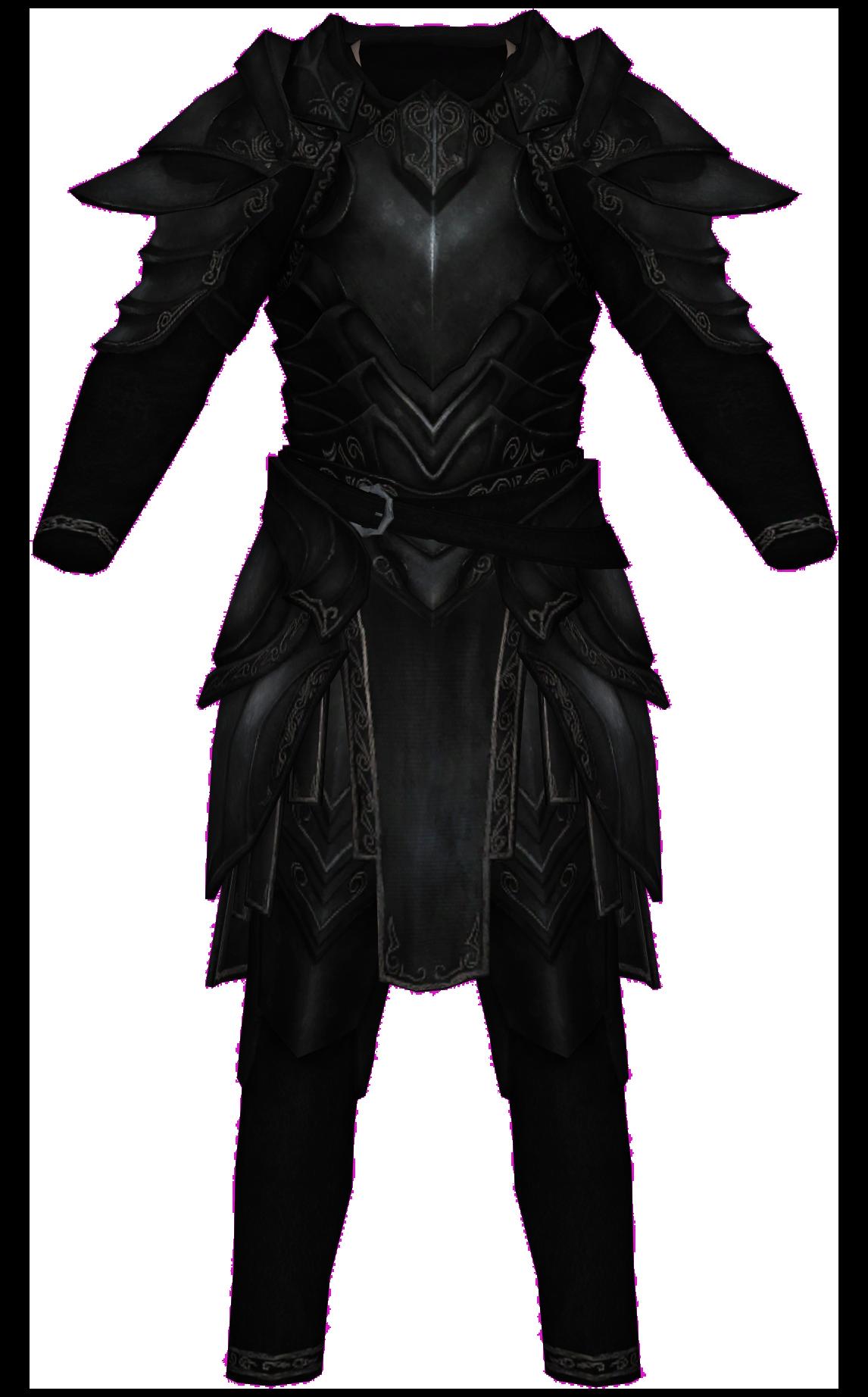 Ebony Armor (Armor Piece)
