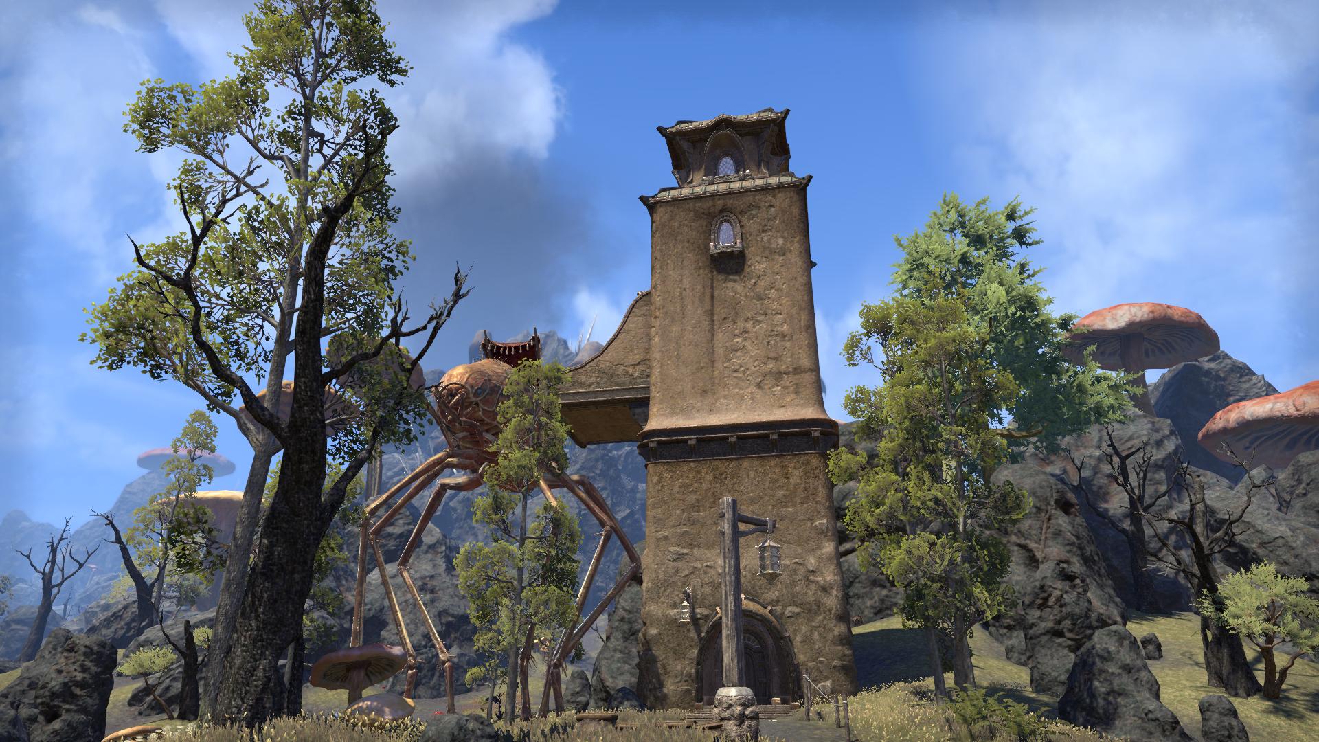 Башня караванщика (Молаг Мар)