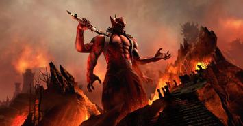 Mehrunes Dagon (Blackwood) promotional image