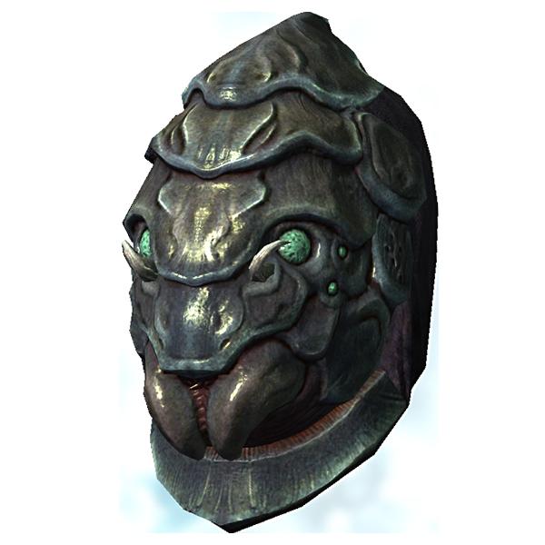 Шлем из хитина жука