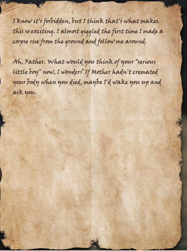 Nolonir's Journal, Page 6