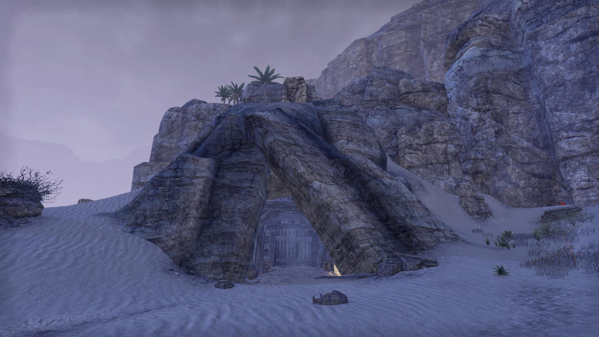Sandblown Mine