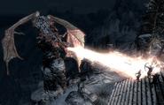 Walczący czczony smok (Skyrim)