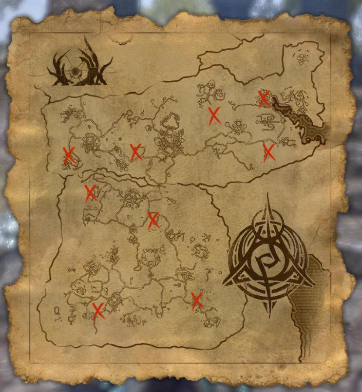 Psijic Map of Black Marsh