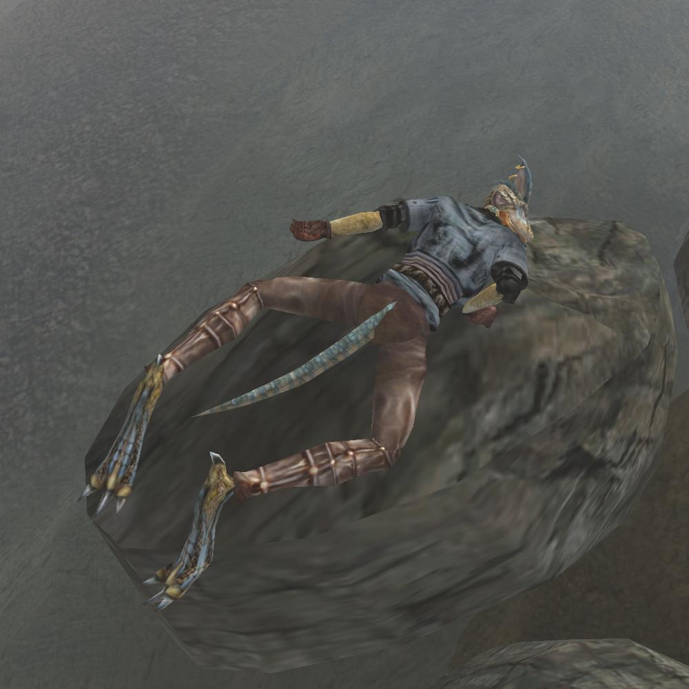 Плывущий по волнам