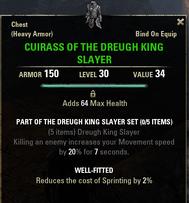 Dreugh King Slayer - Cuirass 30