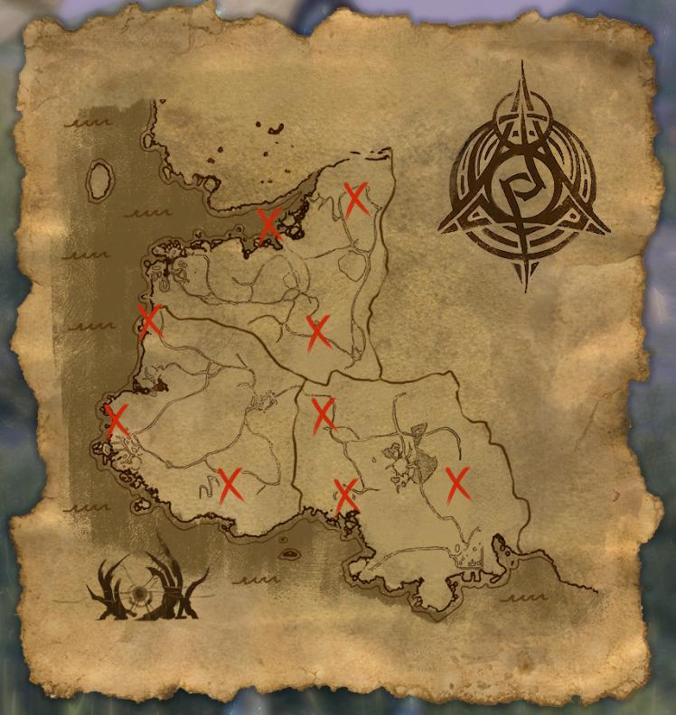 Psijic Map of Valenwood